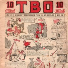 Tebeos: T.B.O - AÑO XVII, NUMERO 830. Lote 27300913