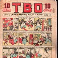 Tebeos: T.B.O - AÑO XIX, NUMERO 957. Lote 27300999