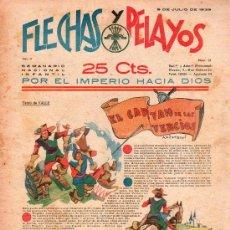 Tebeos: FLECHAS Y PELAYOS - AÑO II, NUMERO 31. Lote 27324139