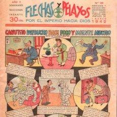 Tebeos: FLECHAS Y PELAYOS - AÑO V, NUMERO 169. Lote 27324142