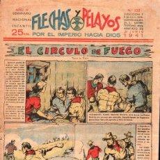 Tebeos: FLECHAS Y PELAYOS - AÑO IV, NUMERO 133. Lote 27324166