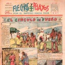 Tebeos: FLECHAS Y PELAYOS - AÑO IV, NUMERO 132. Lote 27324183