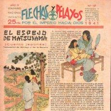 Tebeos: FLECHAS Y PELAYOS - AÑO IV, NUMERO 127. Lote 27324216