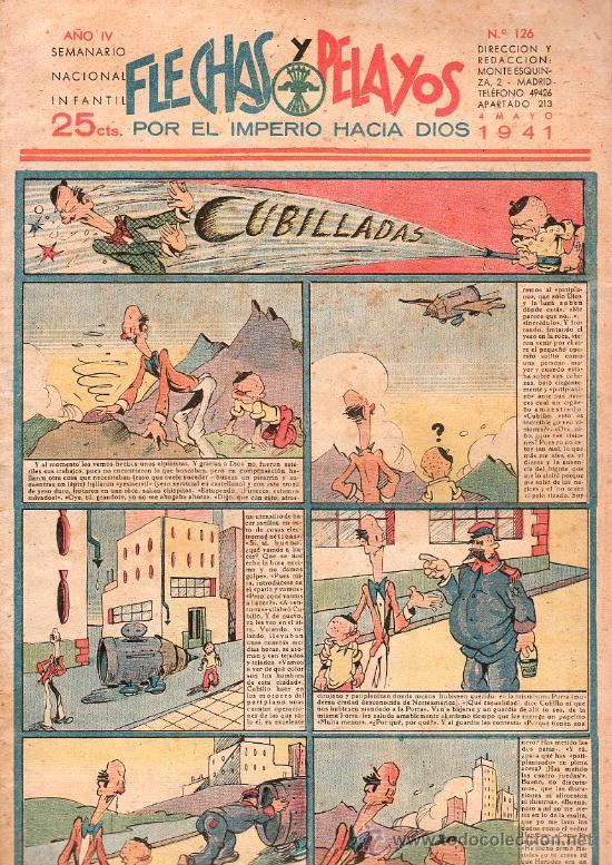 FLECHAS Y PELAYOS - AÑO IV, NUMERO 126 (Tebeos y Comics - Tebeos Clásicos (Hasta 1.939))