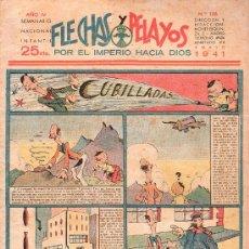 Tebeos: FLECHAS Y PELAYOS - AÑO IV, NUMERO 126. Lote 27324223