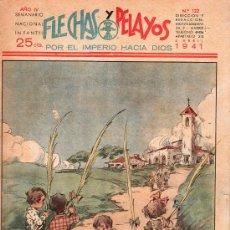 Tebeos: FLECHAS Y PELAYOS - AÑO IV, NUMERO 122. Lote 27324271