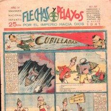 Tebeos: FLECHAS Y PELAYOS - AÑO IV, NUMERO 121. Lote 27324276