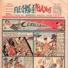 Tebeos: FLECHAS Y PELAYOS - AÑO IV, NUMERO 120. Lote 27324286