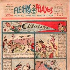 Tebeos: FLECHAS Y PELAYOS - AÑO IV, NUMERO 119. Lote 27324292