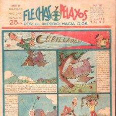 Tebeos: FLECHAS Y PELAYOS - AÑO IV, NUMERO 117. Lote 27324307