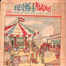 Tebeos: FLECHAS Y PELAYOS - AÑO III, NUMERO 105. NUEVO SIN LEER. Lote 27324448
