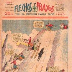 Tebeos: FLECHAS Y PELAYOS - AÑO III, NUMERO 99. NUEVO SIN LEER. Lote 27324565