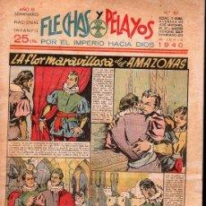 Tebeos: FLECHAS Y PELAYOS - AÑO III, NUMERO 82. NUEVO SIN LEER. Lote 27324747