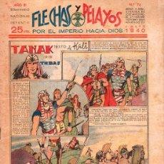 Tebeos: FLECHAS Y PELAYOS - AÑO III, NUMERO 74. NUEVO SIN LEER. Lote 27324871