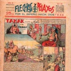 Tebeos: FLECHAS Y PELAYOS - AÑO III, NUMERO 72. NUEVO SIN LEER. Lote 27324901