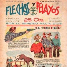 Tebeos: FLECHAS Y PELAYOS - AÑO II, NUMERO 53. NUEVO SIN LEER. Lote 27325077