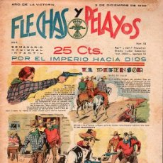Tebeos: FLECHAS Y PELAYOS - AÑO II, NUMERO 52. NUEVO SIN LEER. Lote 27325087