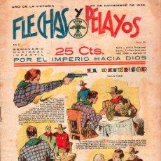 Tebeos: FLECHAS Y PELAYOS - AÑO II, NUMERO 51. NUEVO SIN LEER. Lote 27325103