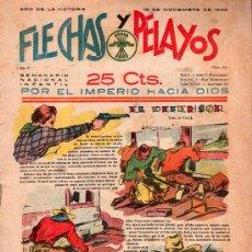 Tebeos: FLECHAS Y PELAYOS - AÑO II, NUMERO 50. NUEVO SIN LEER. Lote 27325113
