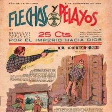 Tebeos: FLECHAS Y PELAYOS - AÑO II, NUMERO 48. NUEVO SIN LEER. Lote 27325128