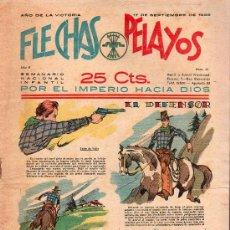 Tebeos: FLECHAS Y PELAYOS - AÑO II, NUMERO 41. NUEVO SIN LEER. Lote 27325194