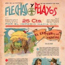 Tebeos: FLECHAS Y PELAYOS - AÑO II, NUMERO 37. NUEVO SIN LEER. Lote 27325223