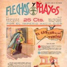 Tebeos: FLECHAS Y PELAYOS - AÑO II, NUMERO 34. NUEVO SIN LEER. Lote 27325255