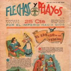 Tebeos: FLECHAS Y PELAYOS - AÑO II, NUMERO 33. NUEVO SIN LEER. Lote 27325424