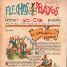 Tebeos: FLECHAS Y PELAYOS - AÑO II, NUMERO 31. NUEVO SIN LEER. Lote 27325435