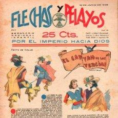 Tebeos: FLECHAS Y PELAYOS - AÑO II, NUMERO 28. NUEVO SIN LEER. Lote 27325448