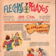Tebeos: FLECHAS Y PELAYOS - AÑO II, NUMERO 27. NUEVO SIN LEER. Lote 27325457