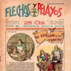 Tebeos: FLECHAS Y PELAYOS - AÑO II, NUMERO 26. NUEVO SIN LEER. Lote 27325468