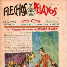 Tebeos: FLECHAS Y PELAYOS - AÑO II, NUMERO 23. NUEVO SIN LEER. Lote 27325495
