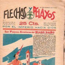 Tebeos: FLECHAS Y PELAYOS - AÑO II, NUMERO 15. NUEVO SIN LEER. Lote 56026025