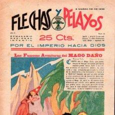 Tebeos: FLECHAS Y PELAYOS - AÑO II, NUMERO 13. NUEVO SIN LEER. Lote 27325587