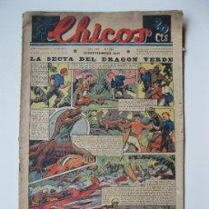 Tebeos: CHICOS - Nº 133 - ORIGINAL - AÑO 1940.. Lote 27350012
