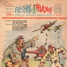 Tebeos: FLECHAS Y PELAYOS - Nº 157 - ORIGINAL - AÑO 1941.. Lote 27350170