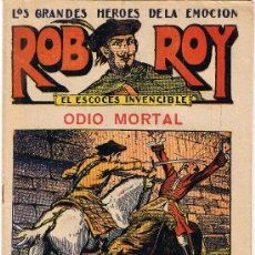 Tebeos: ROB ROY - EL ESCOCÉS INVENCIBLE - Nº 15 - ODIO MORTAL - EDIT. EL GATO NEGRO . Lote 29361032