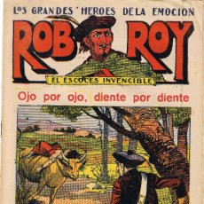 Tebeos: ROB ROY - EL ESCOCÉS INVENCIBLE - Nº 14 - OJO POR OJO, DIENTE POR DIENTE - EDIT. EL GATO NEGRO . Lote 29361043