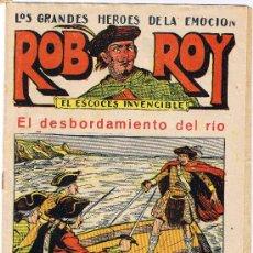 Tebeos: ROB ROY - EL ESCOCÉS INVENCIBLE - Nº 11 - EL DESBORDAMIENTO DEL RIO - EDIT. EL GATO NEGRO . Lote 29361056
