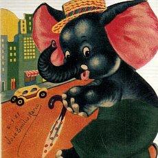 Tebeos: COLECCION MIS ANIMALITOS Nº 806 PAQUETE,EL ELEFANTE ELEGANTE-ED.SIGMAR DE BUENOS AIRES AÑO 1955. Lote 28393461