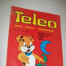 Tebeos: TELEO, Nº. 34.- EDT: VILMAR- 1984.- CON 18 PÁG.. Lote 28688968