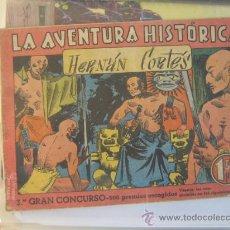 Tebeos: AUGUSTA LA AVENTURA HISTORICA Nº 4 HERNAN CORTES 16 PAGINAS 1,50 PTAS AÑOS 40. Lote 28852093
