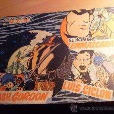 Tebeos: HOMBRE ENMASCARADO FLASH GORDON LUIS CICLON Nº 11 ( PUBLICACIONES MAS ) (VAR1). Lote 28947228