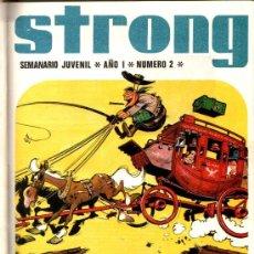 Tebeos: STRONG - TOMOS 1,3,4,5,6 EDI. ARGOS 1969, - BENITO SANSON, SEVERINO Y SEVERIANO ETC.. Lote 29192863