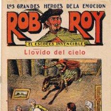Tebeos: ROB ROY - EL ESCOCÉS INVENCIBLE - Nº 16 - LLOVIDO DEL CIELO - EDIT. EL GATO NEGRO . Lote 29361145