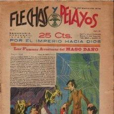Tebeos: FLECHAS Y PELAYOS Nº23 AÑO 1939. Lote 53125911