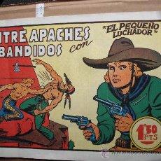 Tebeos: COMIC OESTE: EL PEQUEÑO LUCHADOR 5 ENTRE APACHES Y BANDIDOS MANUEL GAGO CREO QUE ORIGINAL KJ-B. Lote 51786072