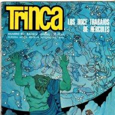 Tebeos: TRINCA Nº 45, CIUS HOW, ALMA DE DRAGON MAROTO, EL CID PALACIOS, OLIVER CHIQUI, YAGO VELOZ. Lote 226401400