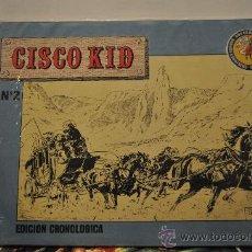 Tebeos: CISCO KID (JOSE LUÍS SALINAS). COL. ART CÓMIC. ED. ESEUVE. Nº 2. Lote 29744211